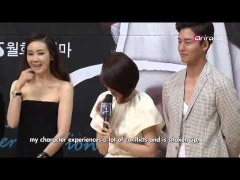 Showbiz Korea - Press Conference Of The Drama temptation  유혹 제작발표회 video