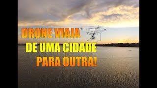 Drone vai de uma cidade para outra : Carinhanha até Malhada - Bahia
