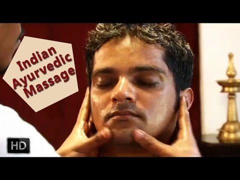 Ayurvedic Indian Massage - Abhyanga - Relaxing Full Body Massage With Oils video