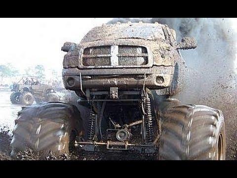 Some mudding + 36000 HP truck