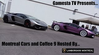Montreal Cars and Coffee 9 Hosted by Lamborghini Montreal