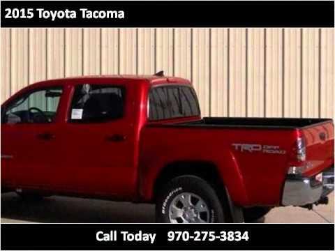2015 Toyota Tacoma New Cars Montrose CO