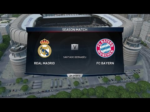 (PS4/Xbox One) FIFA 15 | Real Madrid FC vs Bayern Munich - Full Online Gameplay (1080P Hd)