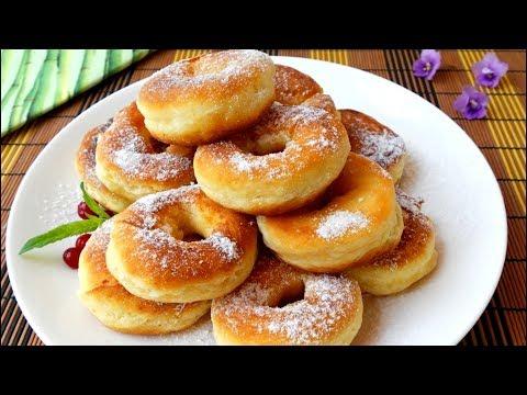 Как приготовить ПОНЧИКИ БЫСТРО И ЛЕГКО. Самые простые пончики на сковороде. ПОЛЕЗНЫЕ СОВЕТЫ MIX