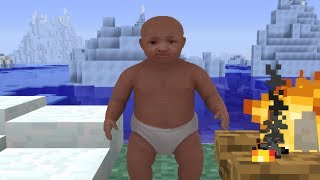 Ice Age Baby in Minecraft