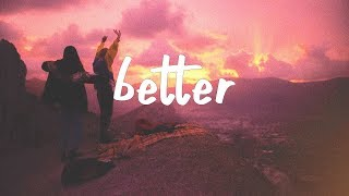 Kayden - Better (Lyric Video) Alternative Version
