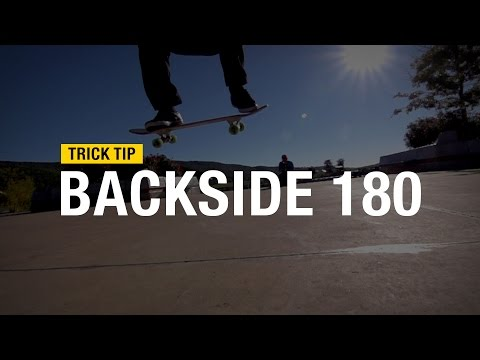 Trick Tip: How to Backside 180 with Andrew Cannon