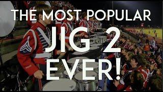 "Awesome Drumline - Quads - Bass Splits - ""JIG 2 - Redux!"""