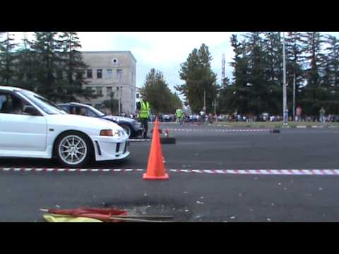 Dachi Taktakishvili - EVO IV RS vs Giorgi Aptsiauri - BMW Z3. Ckvilta rbola samtredia. Finali.