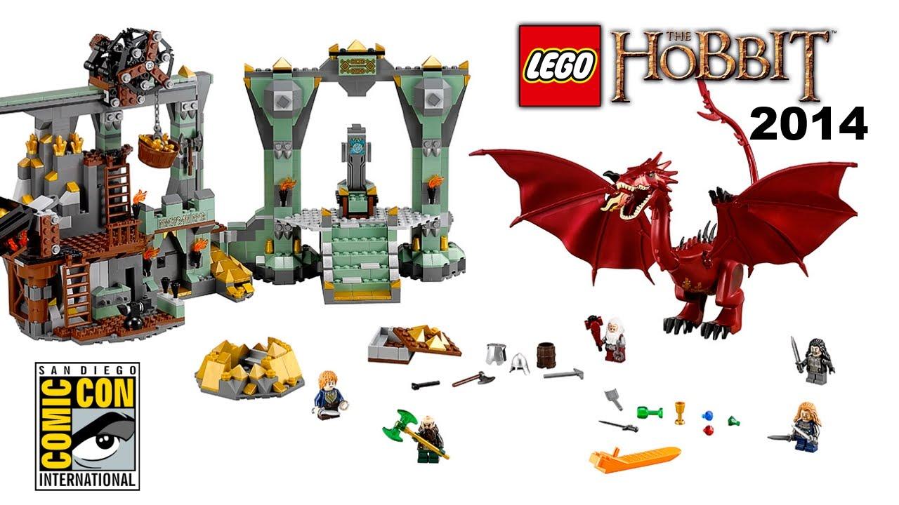 Lego The Hobbit 2014 Smaug Set Revealed The Lonely