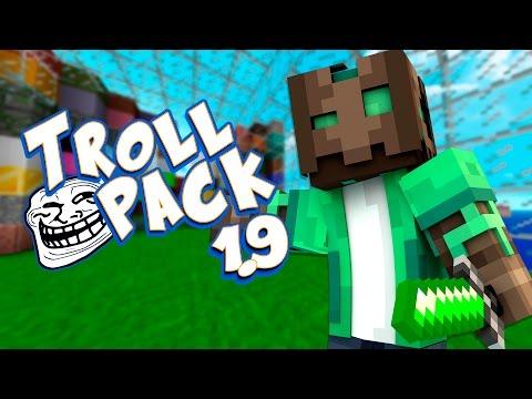 TROLLPACK - Mi nuevo Texture Pack para Minecraft 1.9   Descarga y  Review