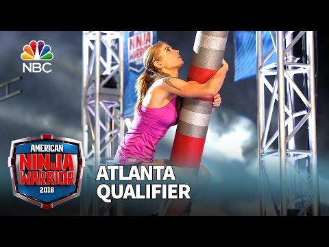 Brittany Reid at the Atlanta Qualifier - American Ninja Warrior 2016