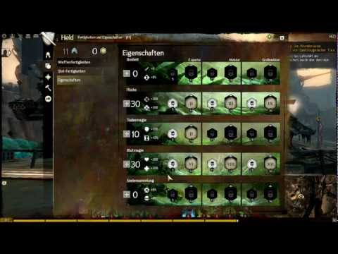 Guild Wars 2 Nekromant Heil Support PVE Build (Skillung deutsch)