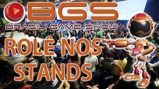 Brasil Game Show 2016 - Rolê nos Stands!