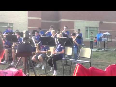 2012 Trickum Middle School Jazz Band
