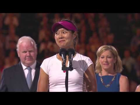 Li Na's brilliant winner's speech - 2014 Australian Open
