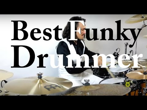 Damien Schmitt - Best Funky Drummer - PlayAlong Available