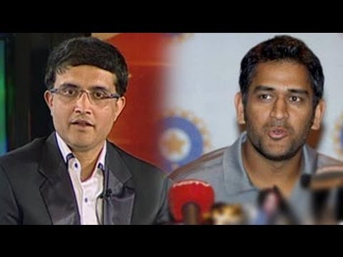 Sourav Ganguly on whether Dhoni is aggressive enough