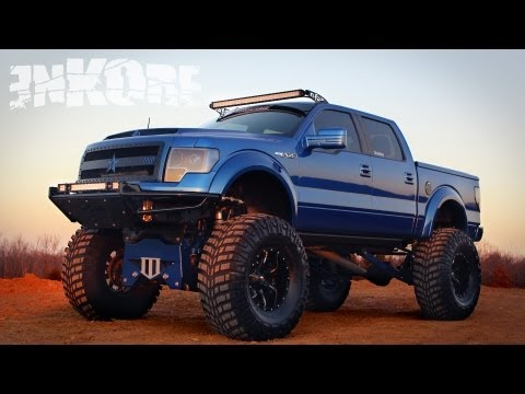 enKOre: Custom Lifted 2010 Ford F150