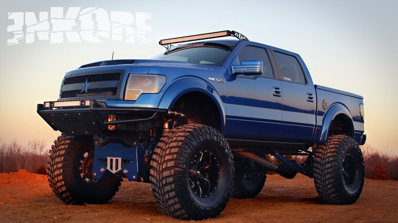 Custom Lifted Ford F150 Trucks
