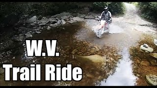 Epic Dual Sport Trail Ride: KLR650 Tiger 800xc CRF250L TE250
