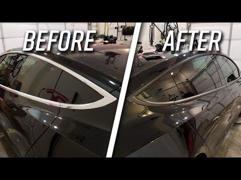 Tesla Model 3 DIY Chrome Delete