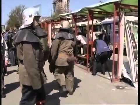 Серия взрывов в Днепропетровске (34 телеканал)