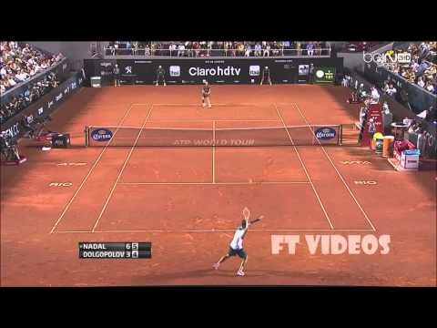 Rafael Nadal x Alexandr Dolgopolov Rio Open 2014 Final - Highlights HD