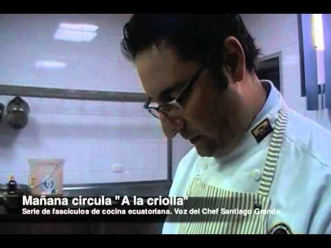 'A la criolla', serie de fascículos de cocina ecuatoriana