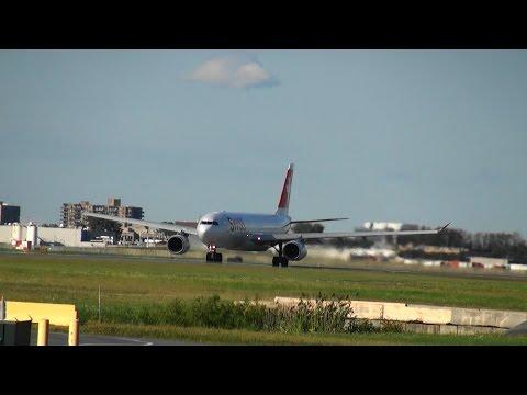 Swiss International Airbus A330-343 (HB-JHA) Takeoff 24L YUL | CYUL Montreal