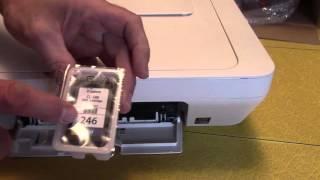 01. Cannon Printer Pixma MG2520 Open Box Unbox