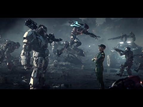 Столкновение с самой страшной угрозой для человечества. Фантастический игровой фильм  Halo Wars 2