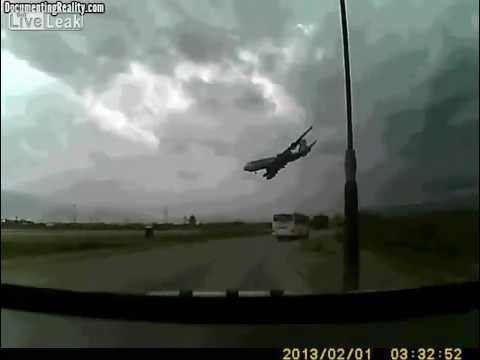 U.S. Cargo Plane Crashes in Bagram Airfield Afghanistan, Killing 7 ( source LiveLeak.com ) crash