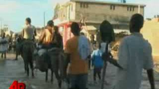 First Person Helping Haitian Flood Victims
