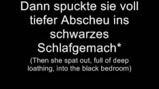 oomph   das letzte streichholz lyrics w english translation