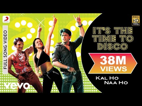 Kal Ho Naa Ho - It's The Time To Disco Video | Shahrukh Khan video