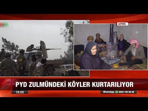 PYD zulmündeki köyler kurtarılıyor - 26 Ocak 2018