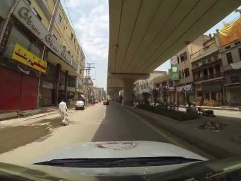 Driving From Lahore To The Wagah Border, Pakistan (2 13) video
