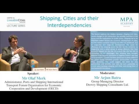 CLC Lecture Series: Shipping, cities and their interdependencies