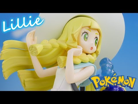 Pokemon Lillie Figure Collection Unboxing
