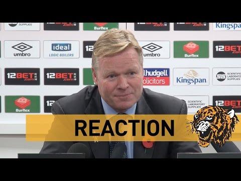 Hull City v Southampton | Reaction with Ronald Koeman