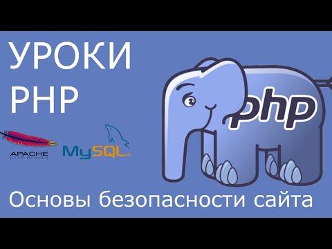PHP: основы безопасности сайта. SQL-инъекции, XSS-атаки и защита от них.