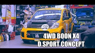 Four Wheel Drive Daihatsu Boon X4 D Sport by Tora Tora Motorsports