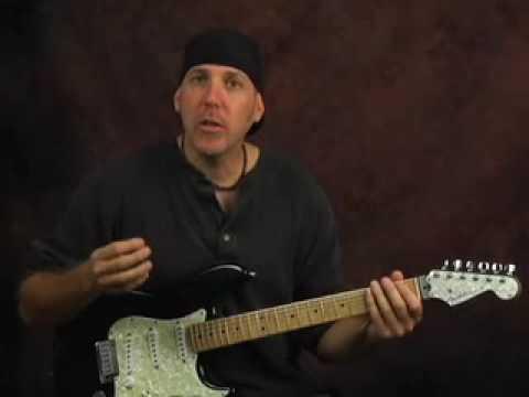 Lead Guitar Blues Rock Lesson Pentatonic Scales Across Neck