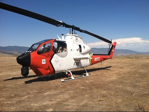 Aviation Support of California Wildfires 2014