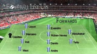 M Tel Aviv 1-3 FC Porto (Porto Starting Lineup) Champions League 2015/2016