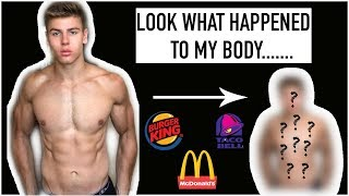 I ATE FAST FOOD EVERYDAY for a MONTH - Here's What Happened