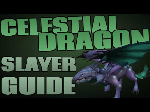 Celestial Dragons Guide and Loot: 160k+ Slayer XP/Hour [Runescape 2014]