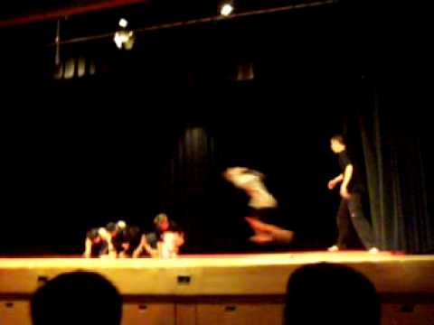 Heart Lake Talent Show 2008 (Prt. 1) - B-Boy Martial Arts