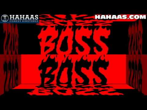 Boss Big Trouble Ringtone  (funny Hahaas Comedy Ringtones & Text Alert Tones) video